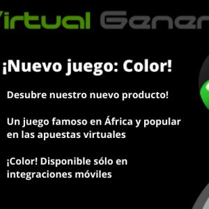 ¡Nuevo juego: Color!